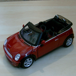 MAISTO 1:24 BMW  Mini Cooper Cabrio Die-cast Model really nice large scale @SOLD@
